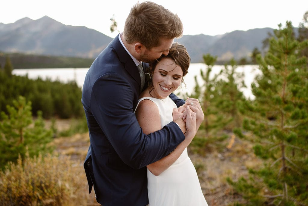 Lake Dillon Wedding Portraits