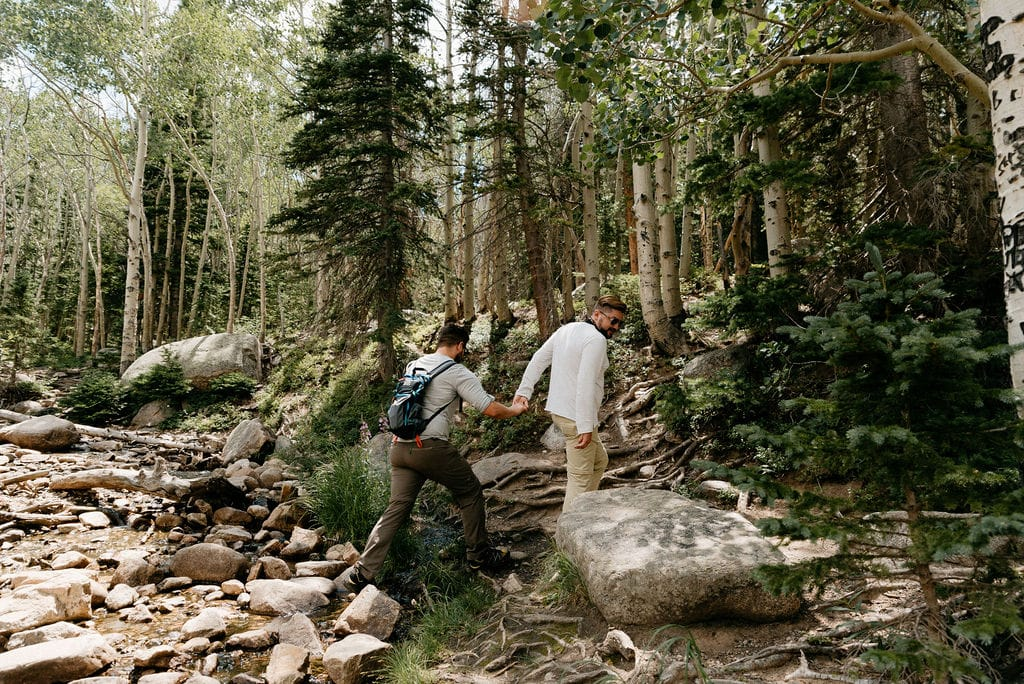 Rocky Mountain National Park Couples Session