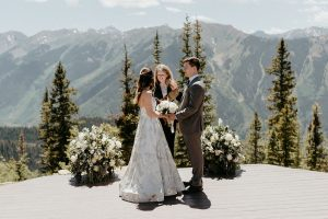Aspen Colorado Wedding Ceremony at The Little Nell