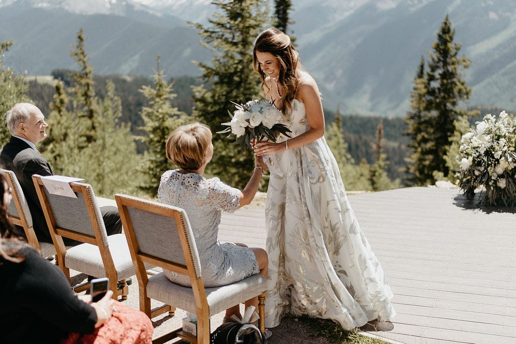 Aspen Colorado Wedding Ceremony