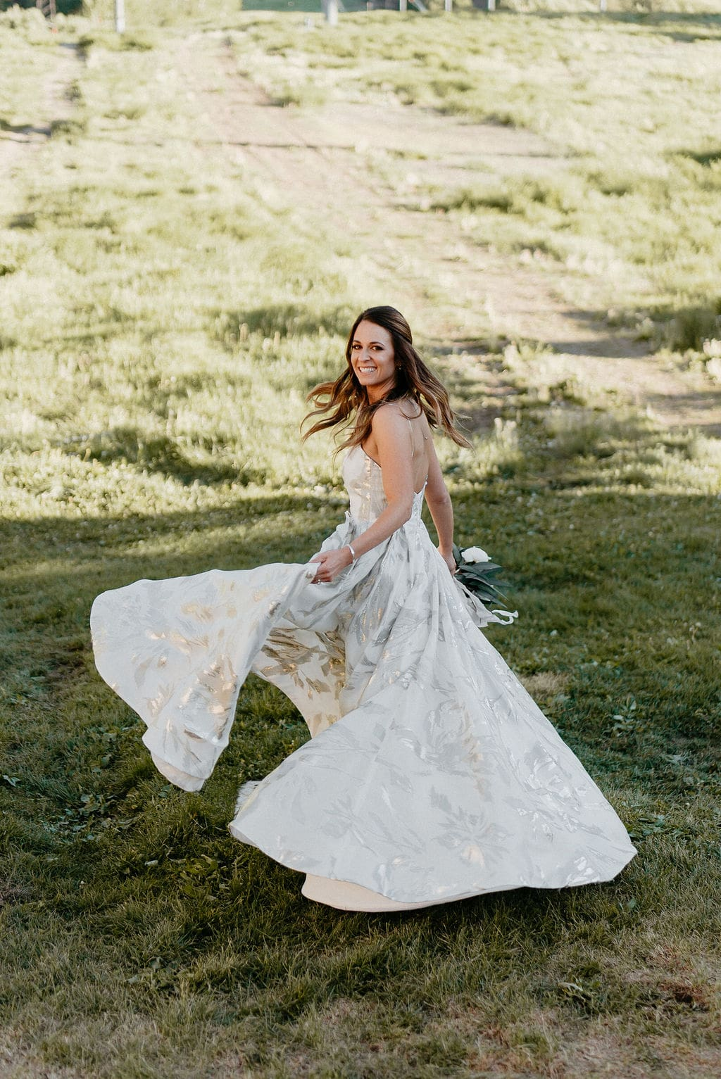 Bride in Aspen Colorado
