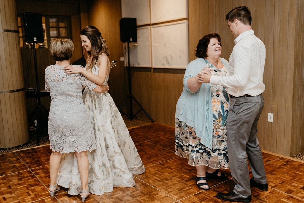 wedding parent dances at the little nell aspen