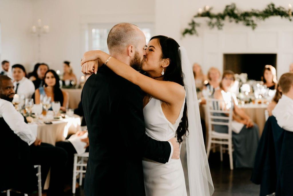 Colorado Wedding Photographer Cara Eliz Photo captures Manor House Wedding First Dance