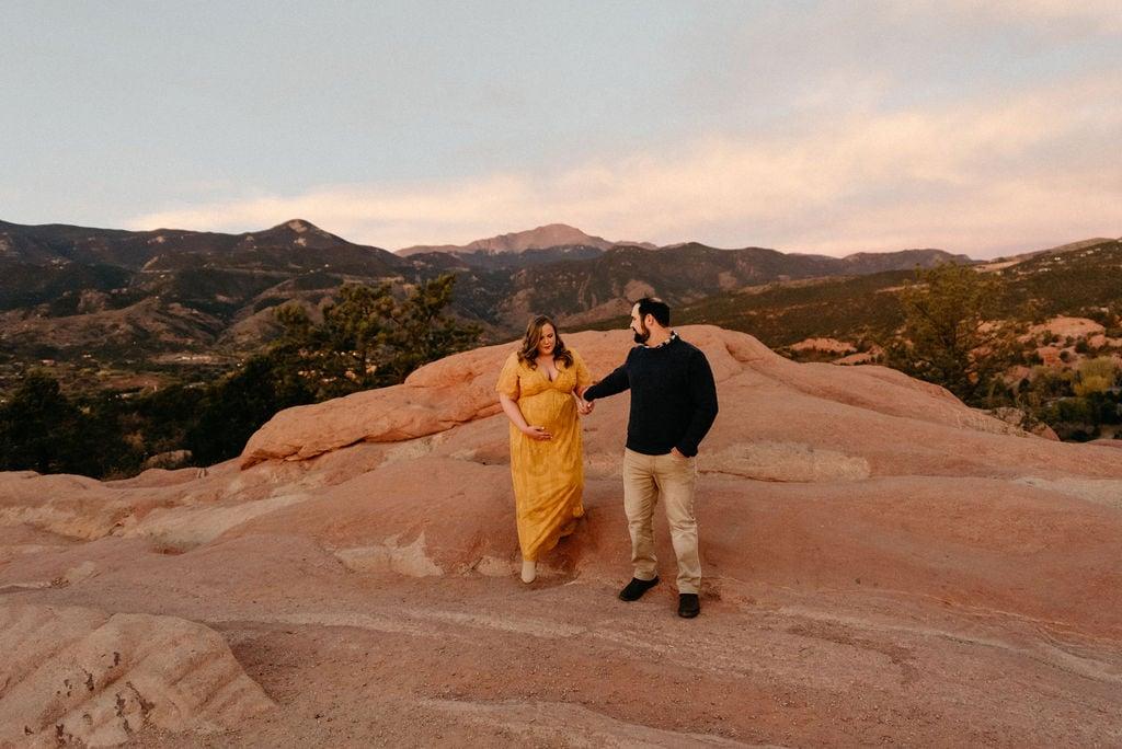 High Point Garden of The Gods Wedding Ceremony Location
