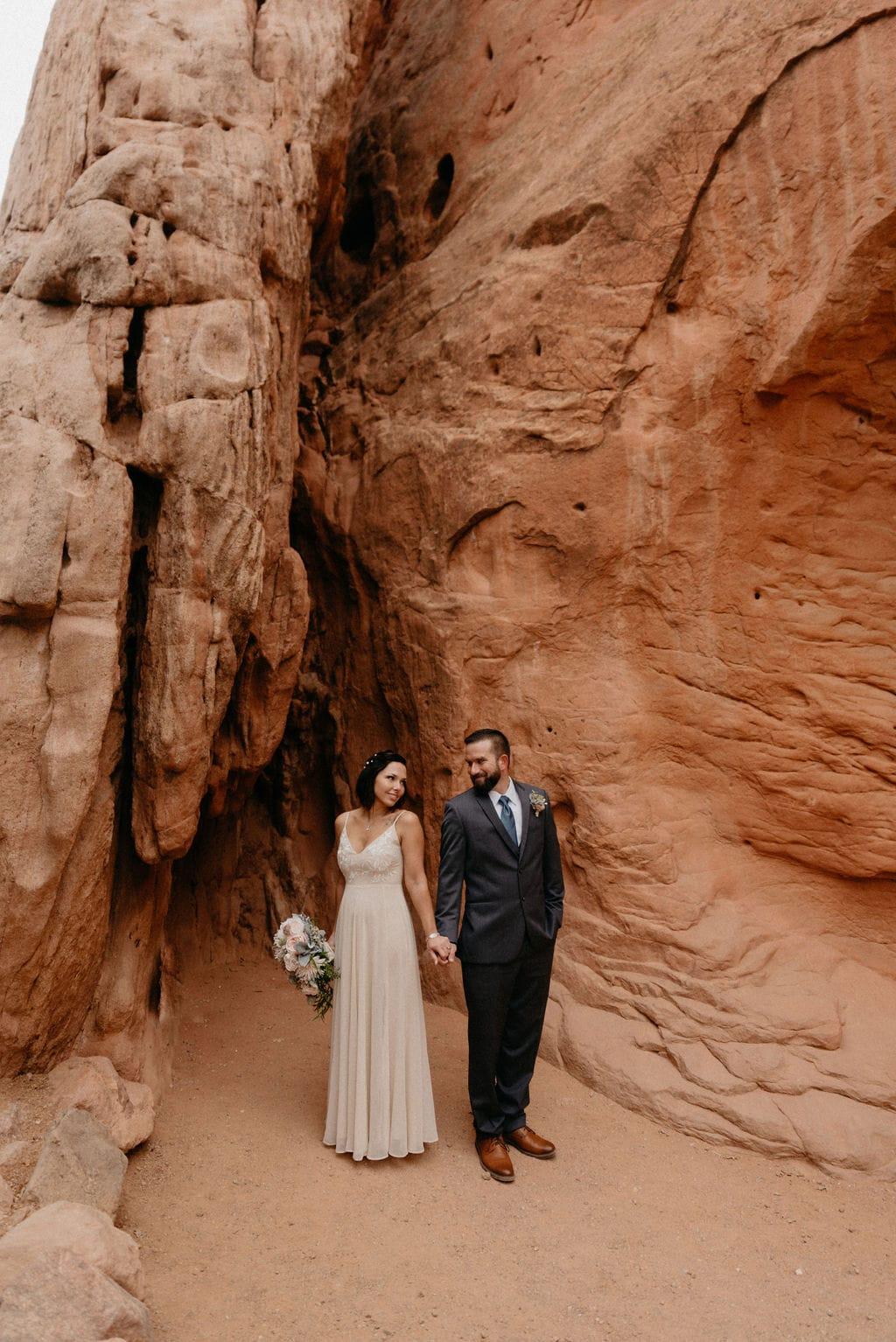 Sentinel Plaza Garden of the Gods Wedding Ceremony Location