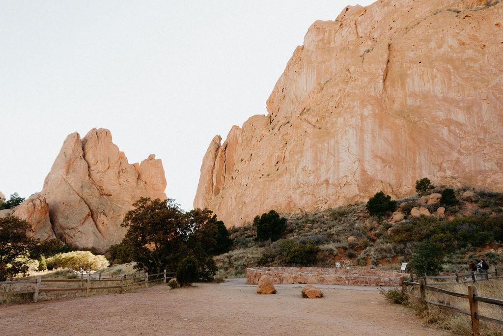 Jaycee Plaza Garden of the Gods Wedding Ceremony Location