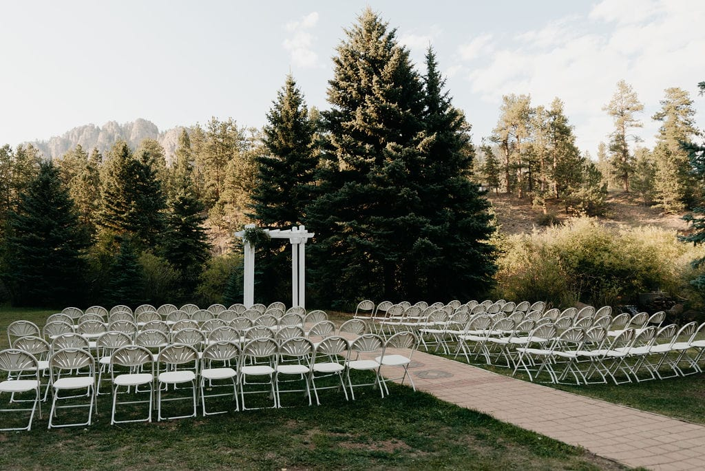 Ceremony Site at Wedgewood Mountain View Ranch