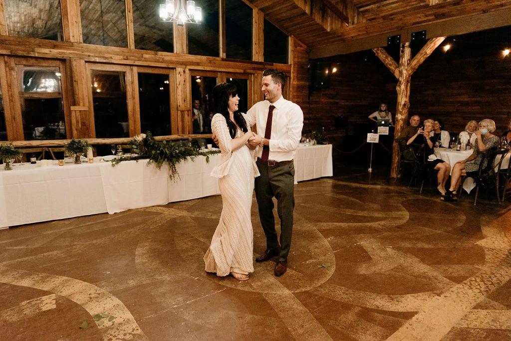 Mountain view ranch wedding reception Best Colorado Wedding Venue in Pine, CO