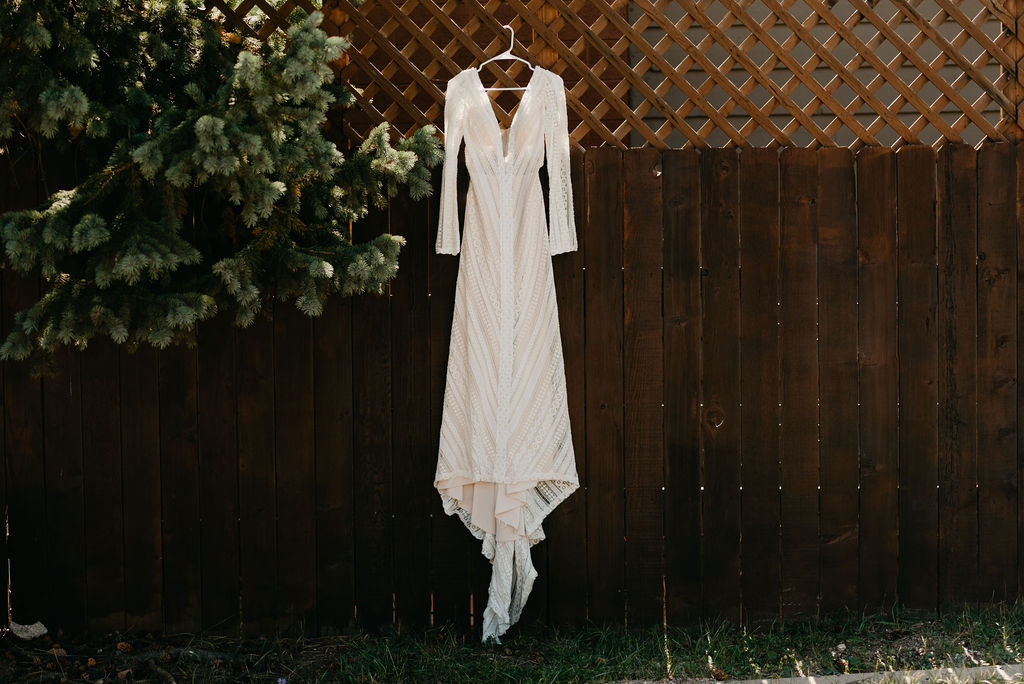 Beautiful Boho Wedding dress