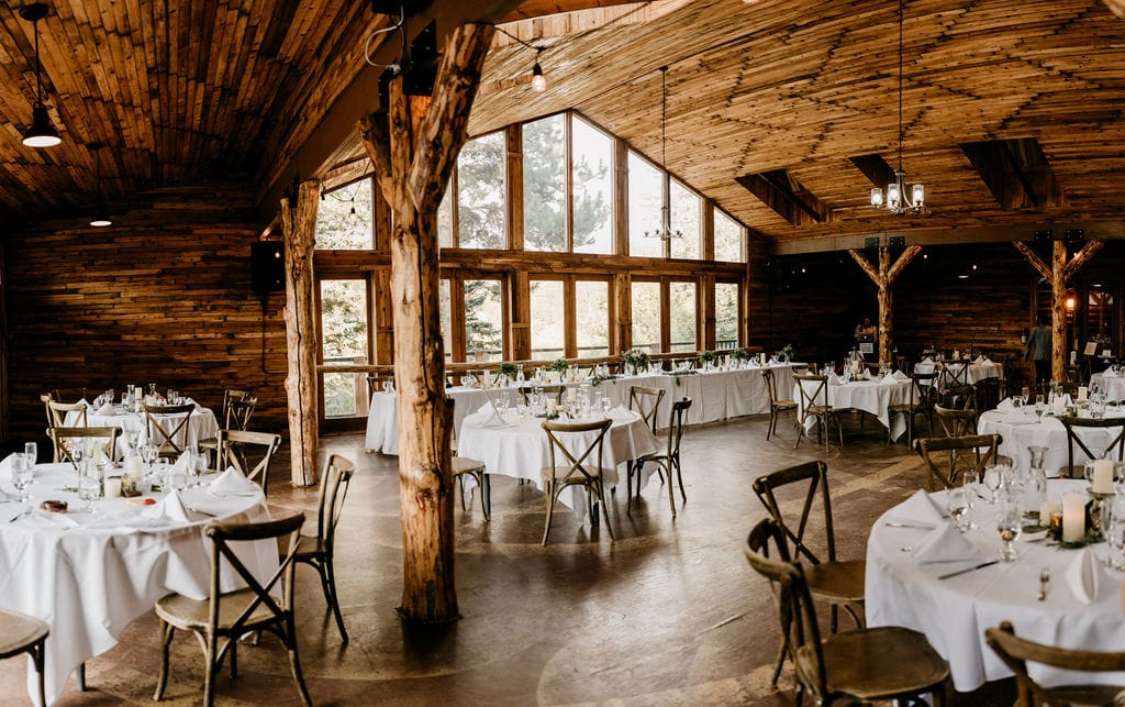 Wedgewood Mountain View ranch in Pine, CO reception