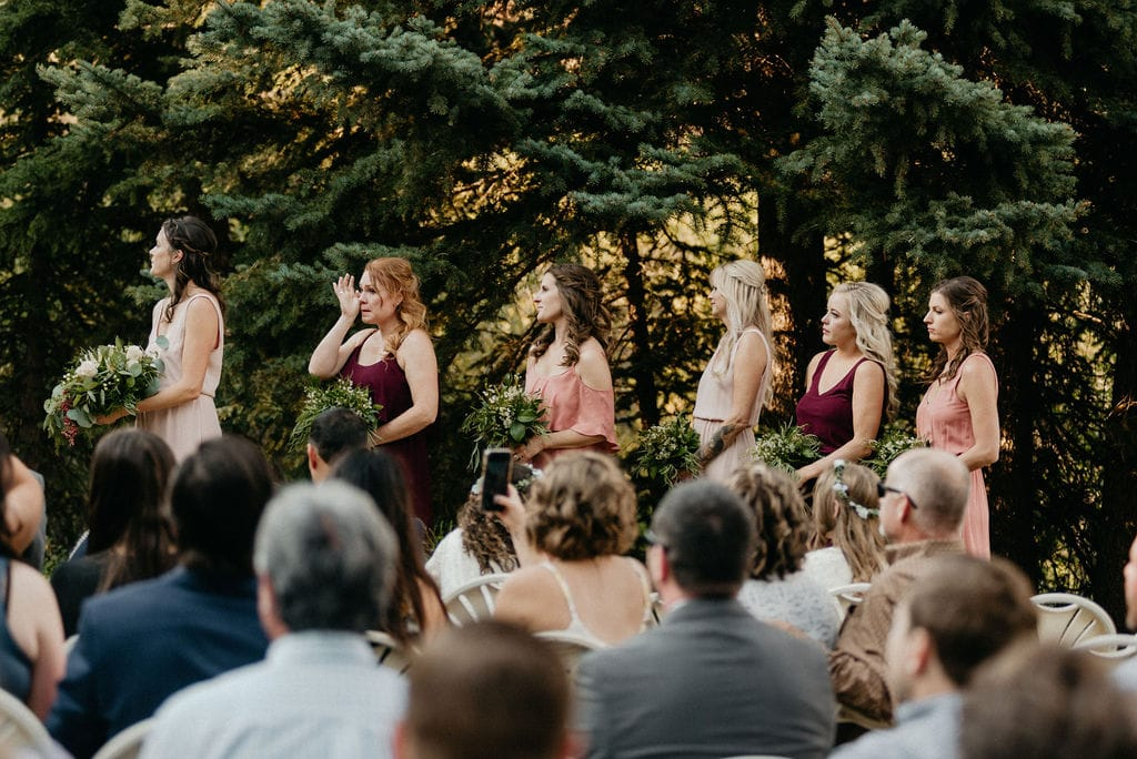 Mountain View Ranch Wedding Ceremony