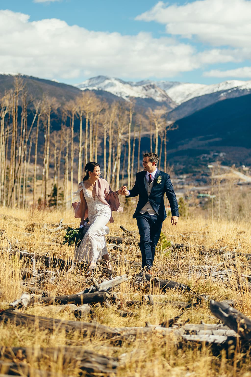 Silverthorne Pavillion Wedding Photo by Autumn Cutaia Photography