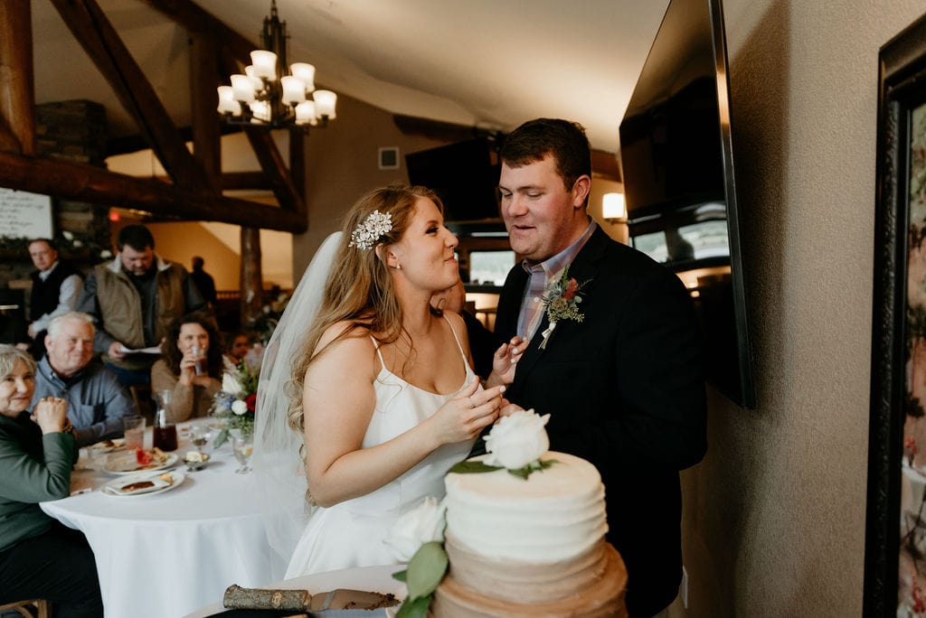 Cake Cutting in Estes Park Resort