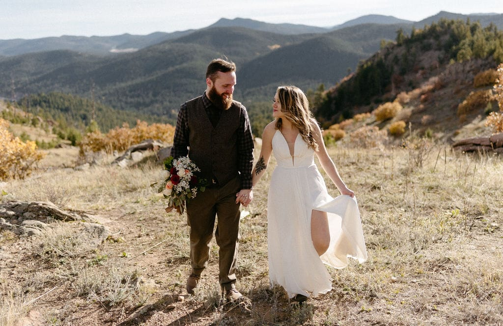 Mount Falcon Denver Colorado Elopement