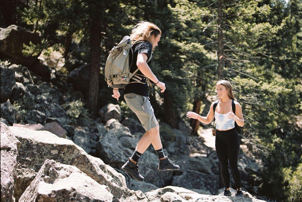 Eldorado Canyon State Park Couples Session